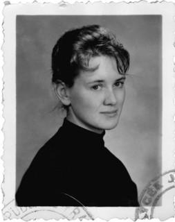 Annie Ernaux, vers 18 ans.